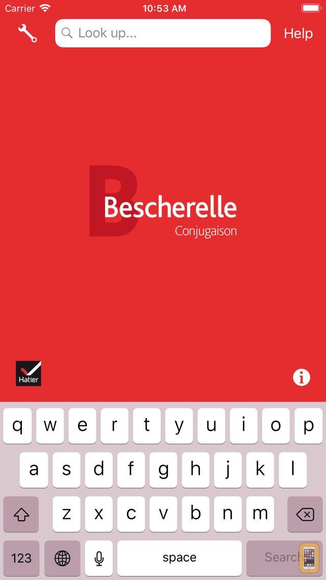 Screenshot - Bescherelle Conjugaison