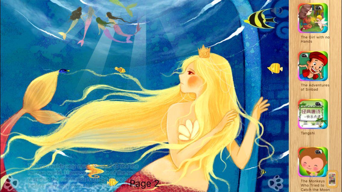 Screenshot - The Little Mermaid - iBigToy
