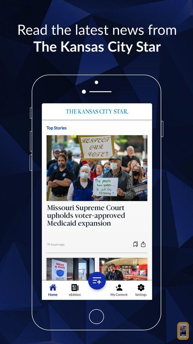Screenshot - Kansas City Star News