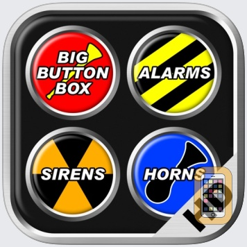 Big Button Box: Alarms, Sirens & Horns HD - sounds by Shaved Labs Ltd (iPad)