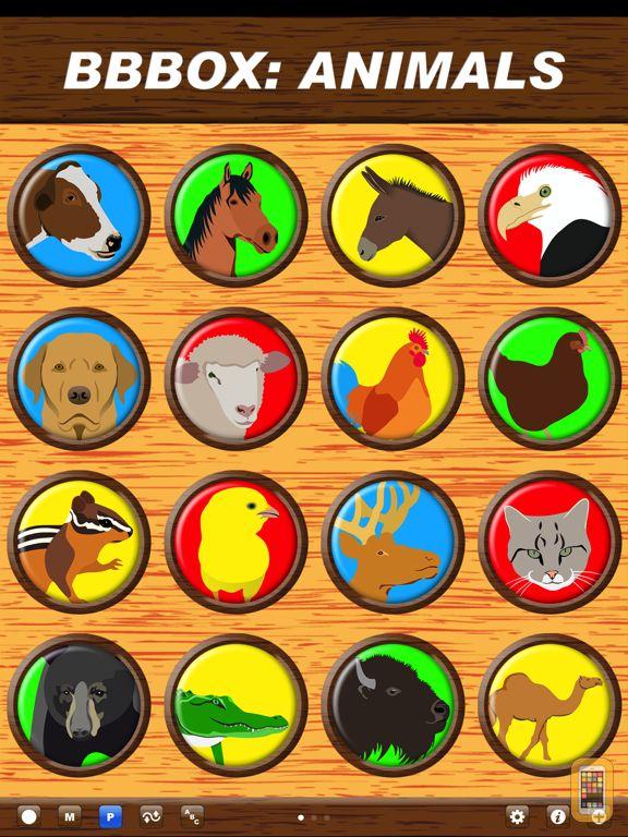 Screenshot - Big Button Box Animals HD - sound effects & sounds