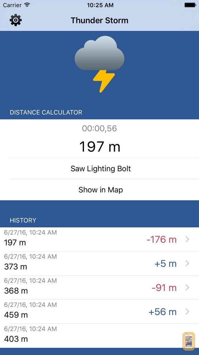 Screenshot - Thunder Storm - Distance from Lightning