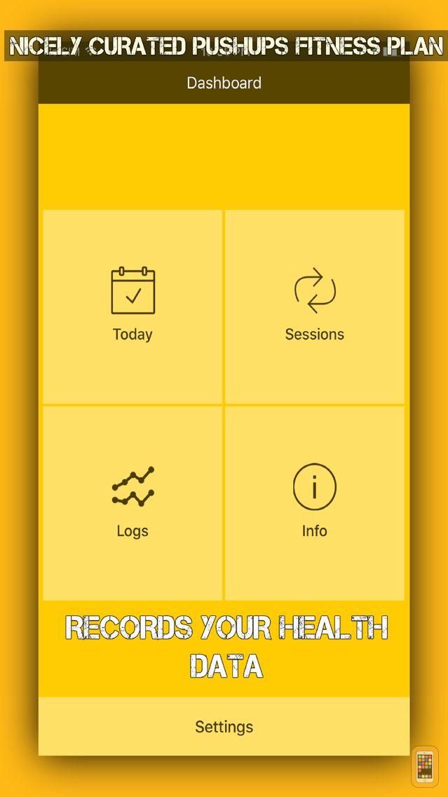 Screenshot - Hundred Pushups Pro