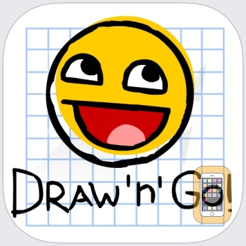 Draw 'n' Go: Awesomeness! by AlphaWeb Plus LLP (iPhone)