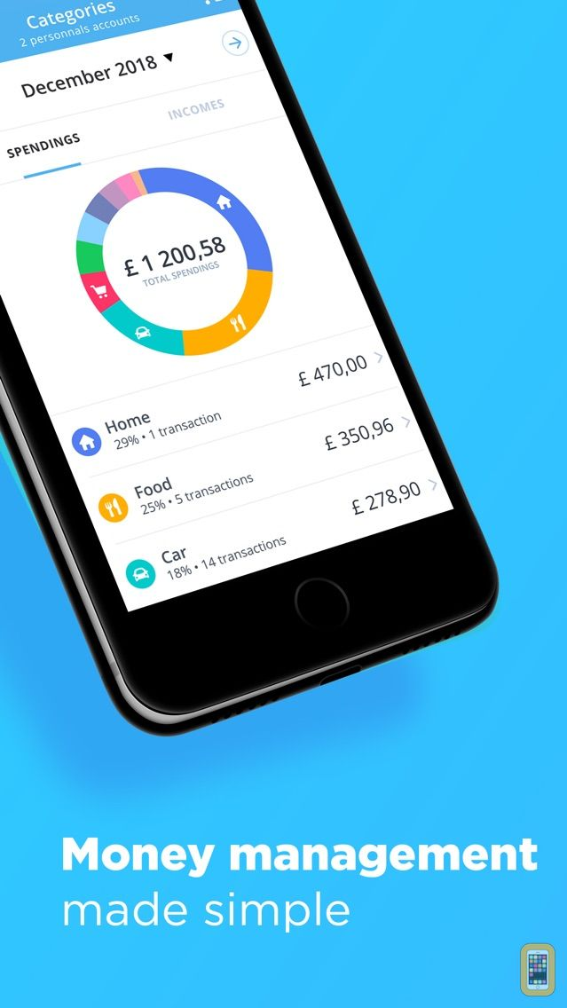 Screenshot - Bankin' - The Best App to manage my finances
