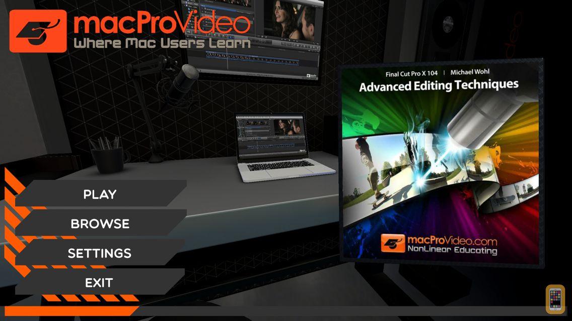 Screenshot - Course For Final Cut Pro X 104
