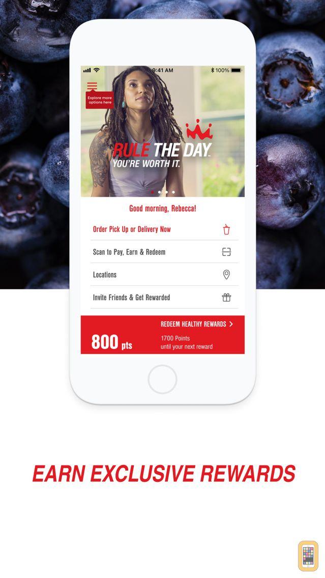 Screenshot - Smoothie King Healthy Rewards