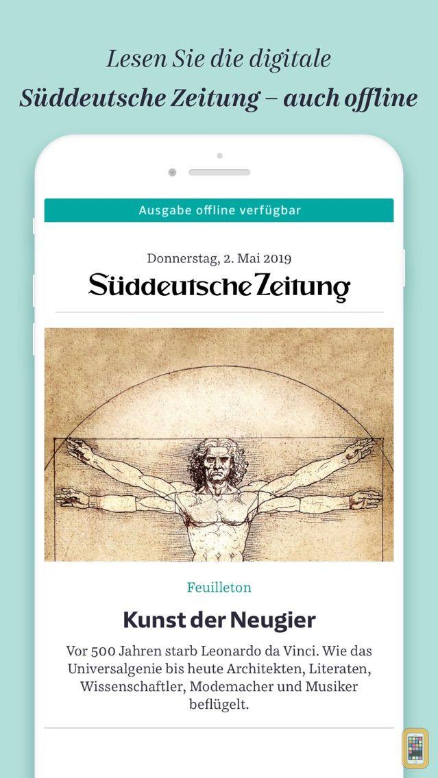 Screenshot - Süddeutsche Zeitung