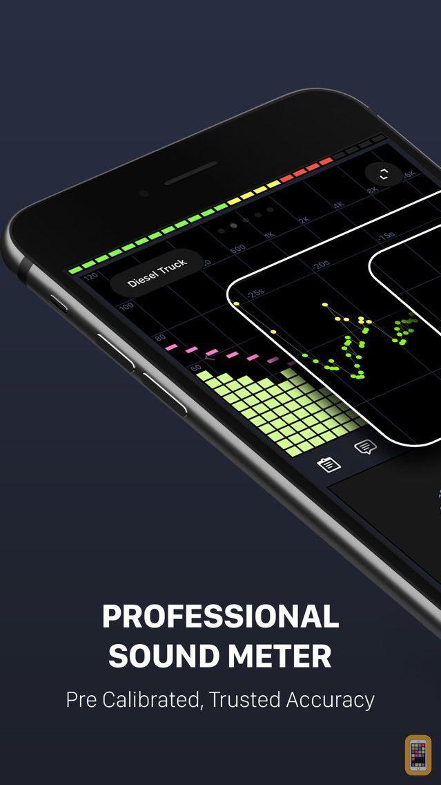 Screenshot - Decibel X:dB Sound Level Meter