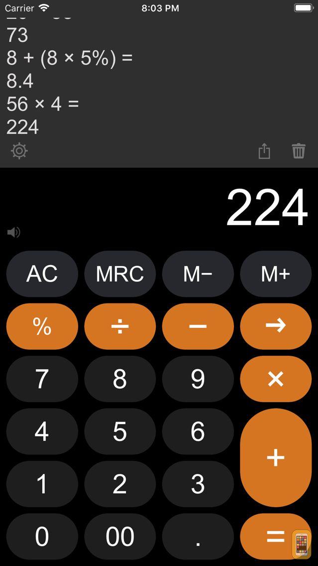 Screenshot - Calculator Easy HD