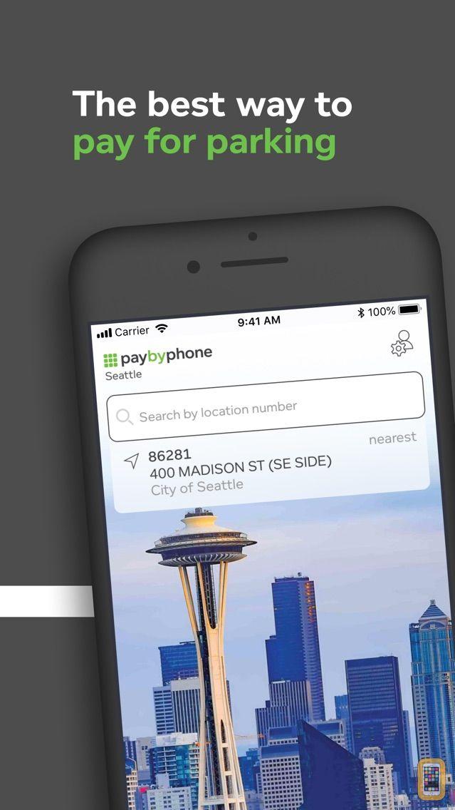 Screenshot - PayByPhone Parking