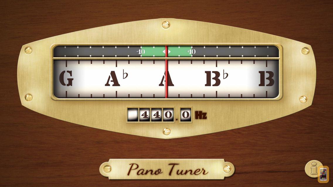 Screenshot - Free Chromatic Tuner: Pano Tuner