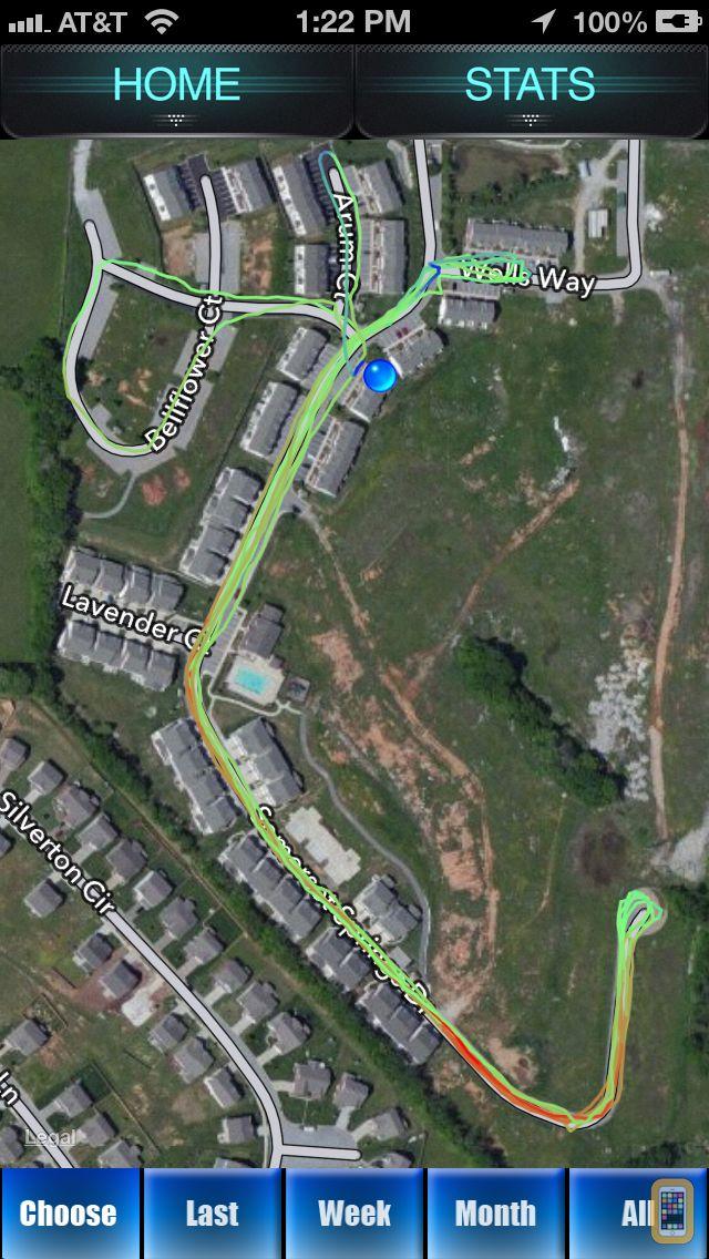 Screenshot - Run Tracker - GPS Fitness Tracking for Runners