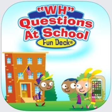 WH Questions at School Fun Deck by Super Duper Publications (Universal)