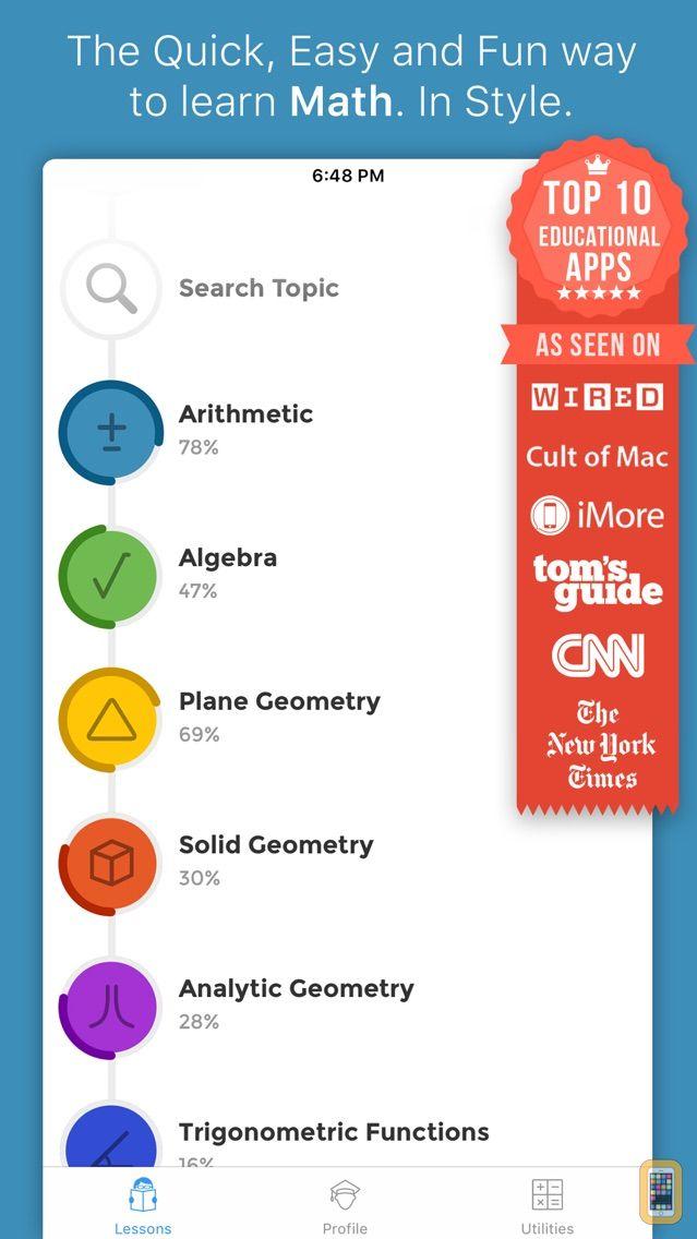 Screenshot - iMathematics™ Pro