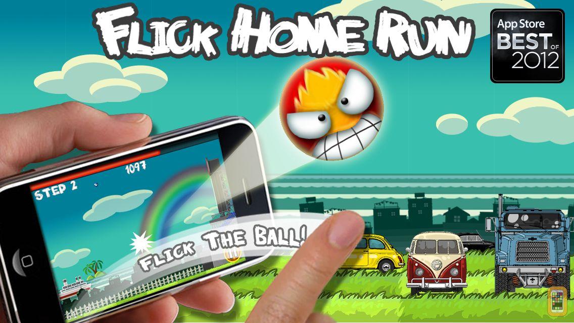 Screenshot - Flick Home Run !