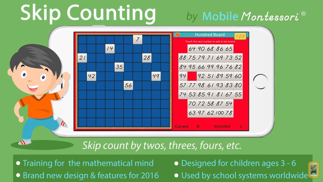 Screenshot - Skip Counting -Montessori Math