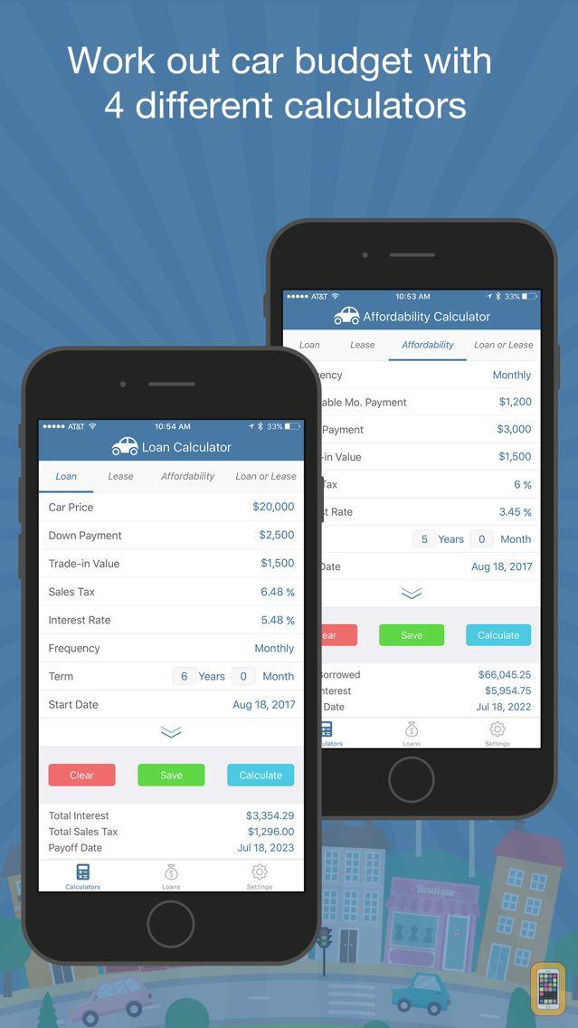 Screenshot - Car Loan Budget Calculator Pro