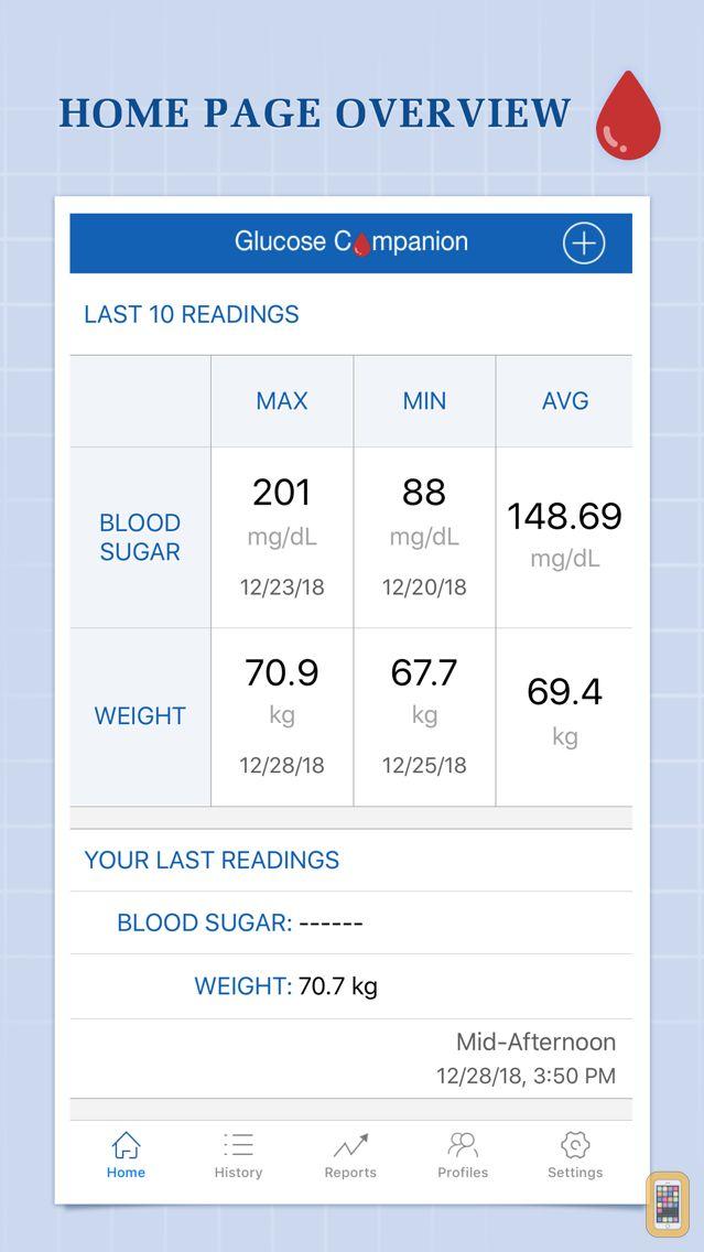 Screenshot - Glucose Companion Pro