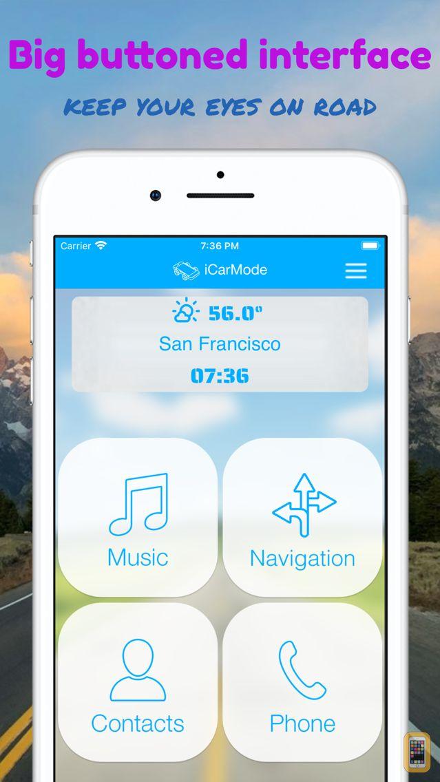 Screenshot - iCarMode: Drive Safely