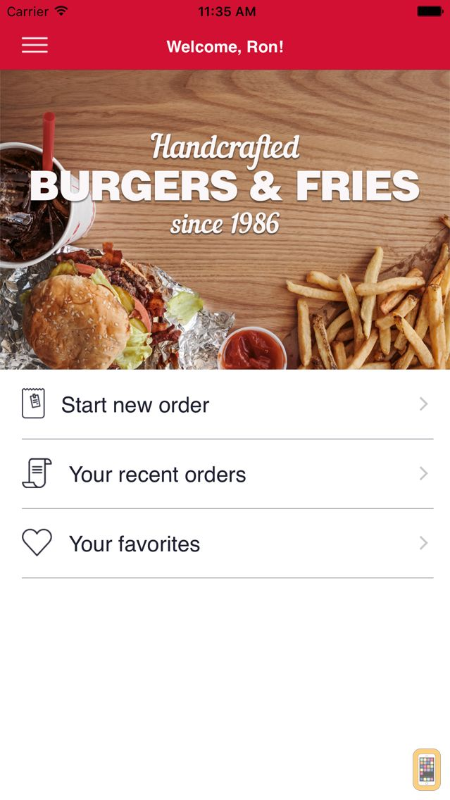 Screenshot - Five Guys Burgers & Fries
