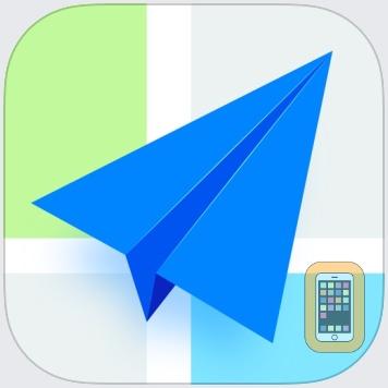 高德地图-精准地图,导航打车出行必备 by AutoNavi Information Technology Co. Ltd. (iPhone)