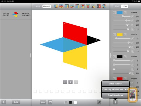 Screenshot - Colors by Number