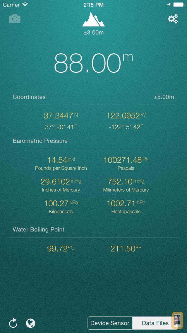 Screenshot - My Altitude