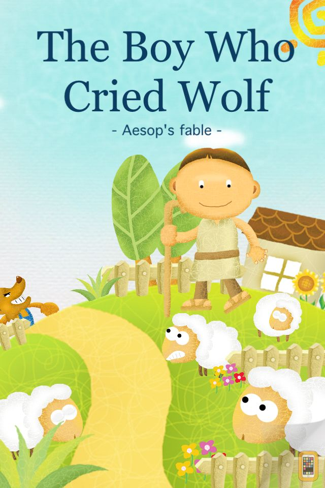 Screenshot - The Boy who Cried Wolf - Interactive Storybook