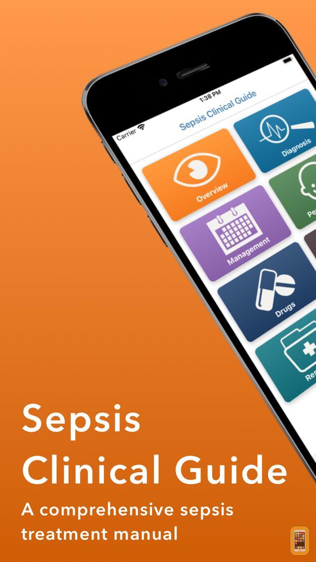 Screenshot - Sepsis Clinical Guide