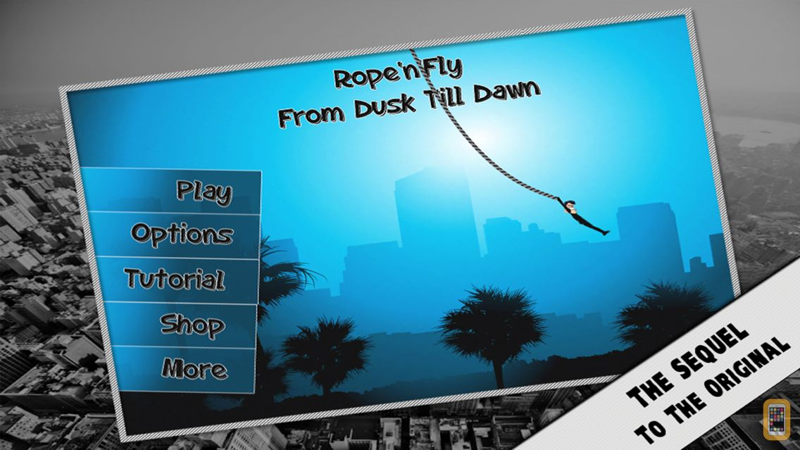 Screenshot - Rope'n'Fly 3 - From Dusk Till Dawn