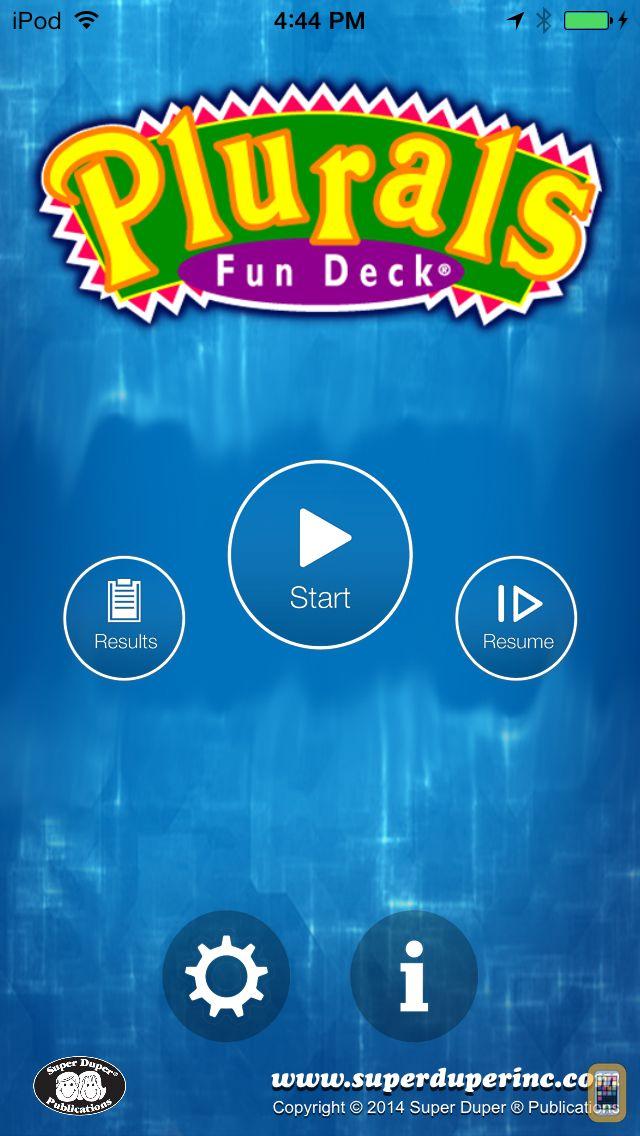Screenshot - Plurals Fun Deck
