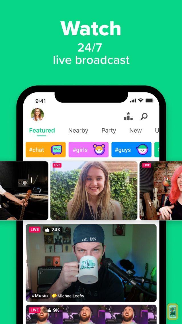 Screenshot - YouNow: Live Stream & Go Live
