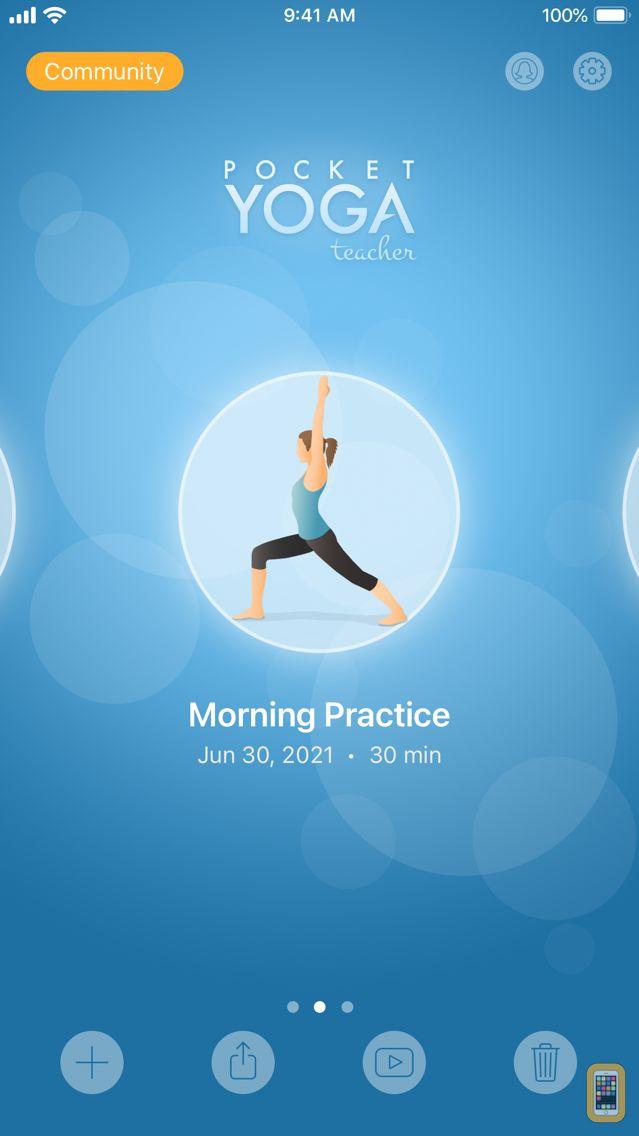 Screenshot - Pocket Yoga Teacher