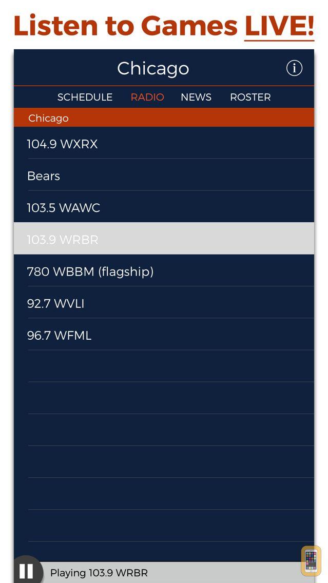 Screenshot - Chicago Football Radio & Live Scores