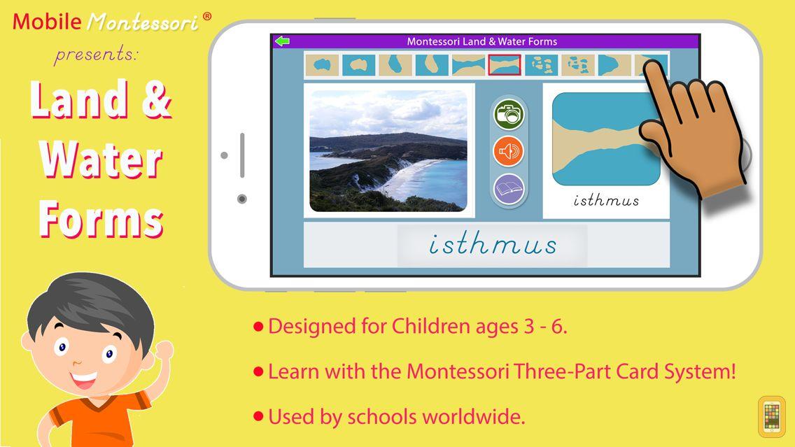 Screenshot - Montessori Land & Water Forms