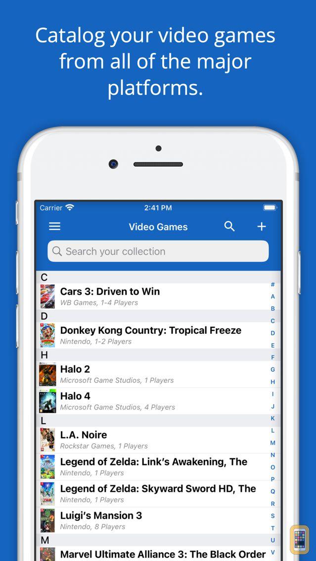 Screenshot - Video Games Database - UPC Game Scanner Collection
