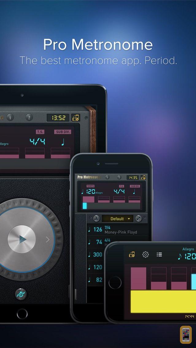 Screenshot - Pro Metronome - Tempo,Beat,Subdivision,Polyrhythm