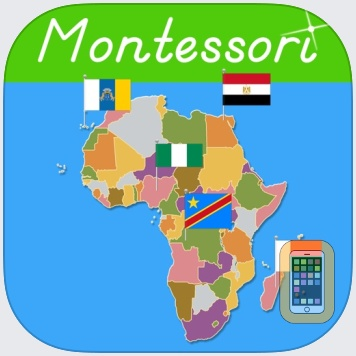 Africa - Montessori Geography by Rantek Inc. (Universal)