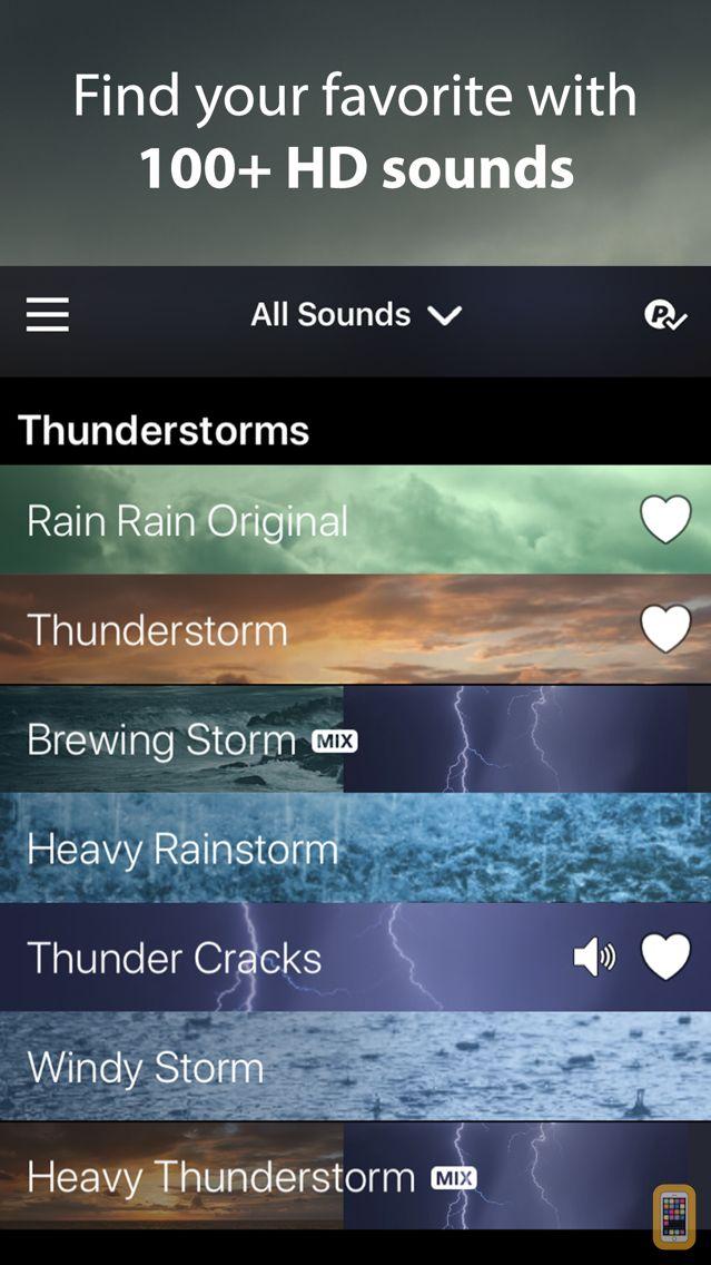 Screenshot - Rain Rain Sleep Sounds