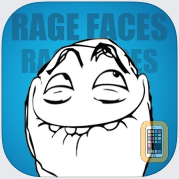 SMS Rage Faces - 3000+ Faces and Memes by Robert Lemoine (iPhone)