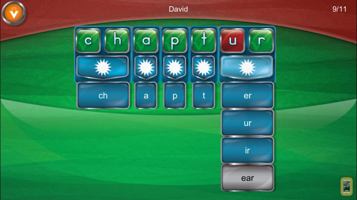 Screenshot - Simplex Spelling Phonics 1