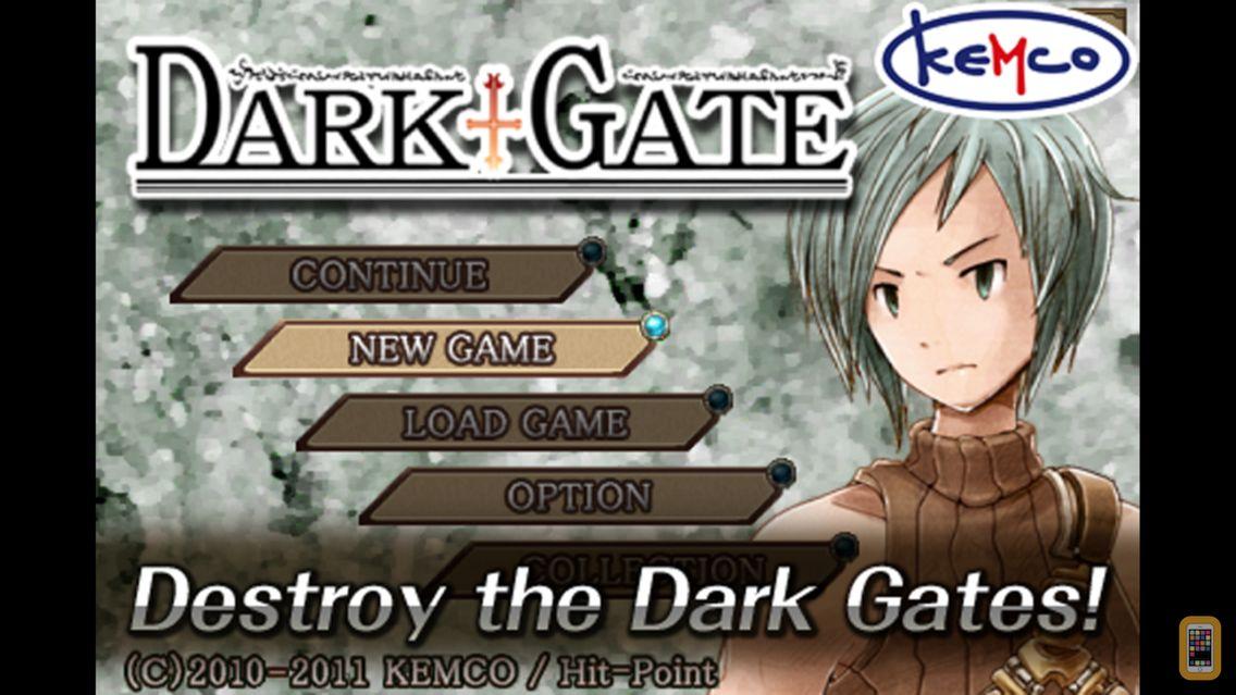 Screenshot - RPG DarkGate - KEMCO