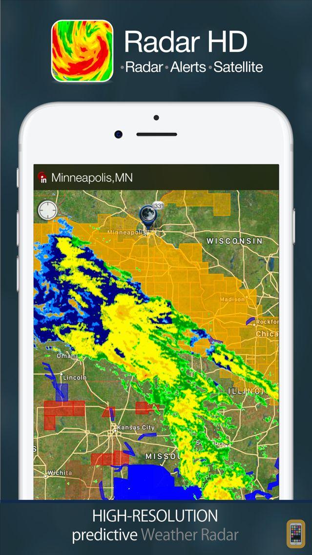 Screenshot - Radar HD - Future NOAA Doppler Weather Radar
