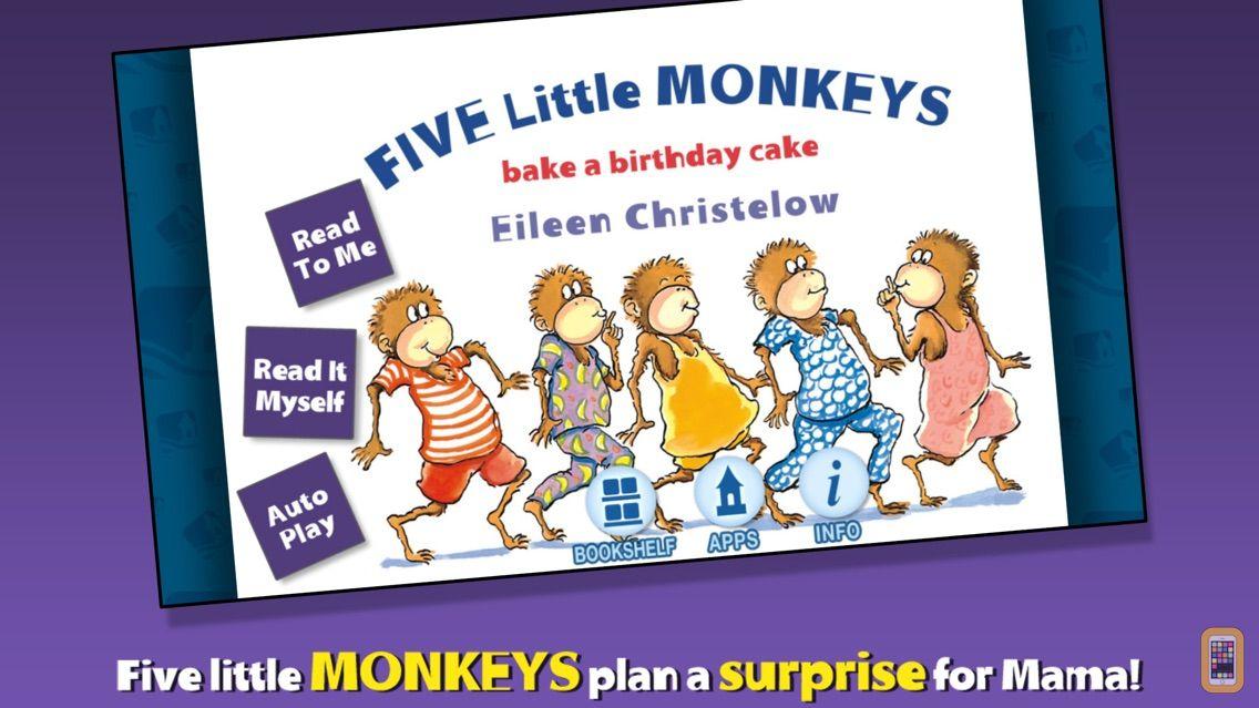 Screenshot - Five Little Monkeys Bake a Birthday Cake