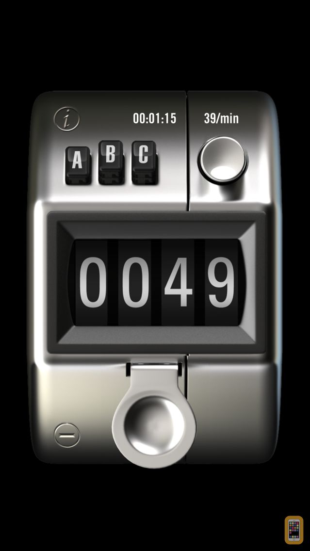 Screenshot - Tally Counter 3X