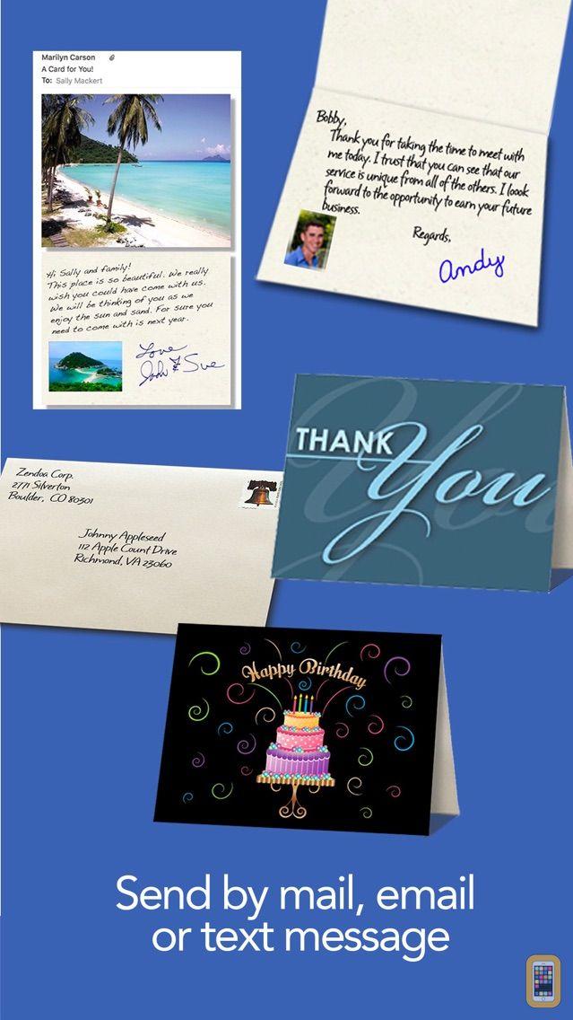 Screenshot - ThankYouPro - Thank You Cards