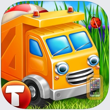 Cars in sandbox: Construction by Thematica - educational and fun apps for kids (Universal)