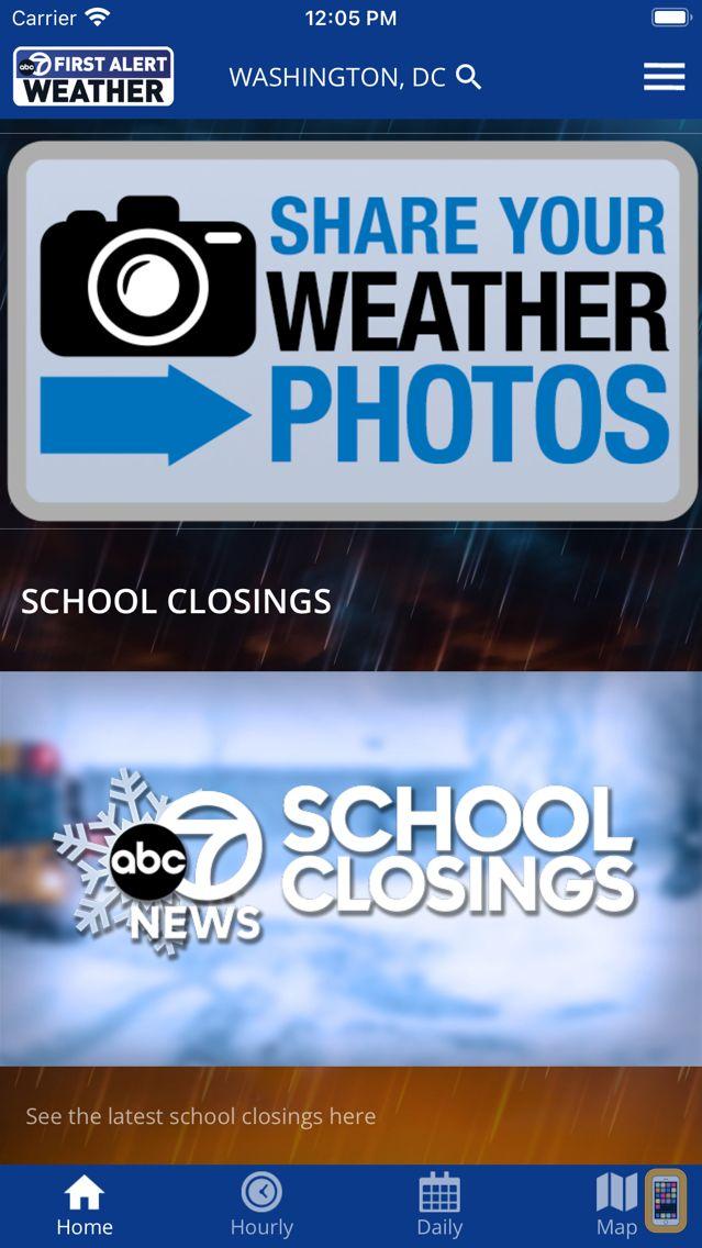 Screenshot - StormWatch7 - WJLA/ABC7/D.C.
