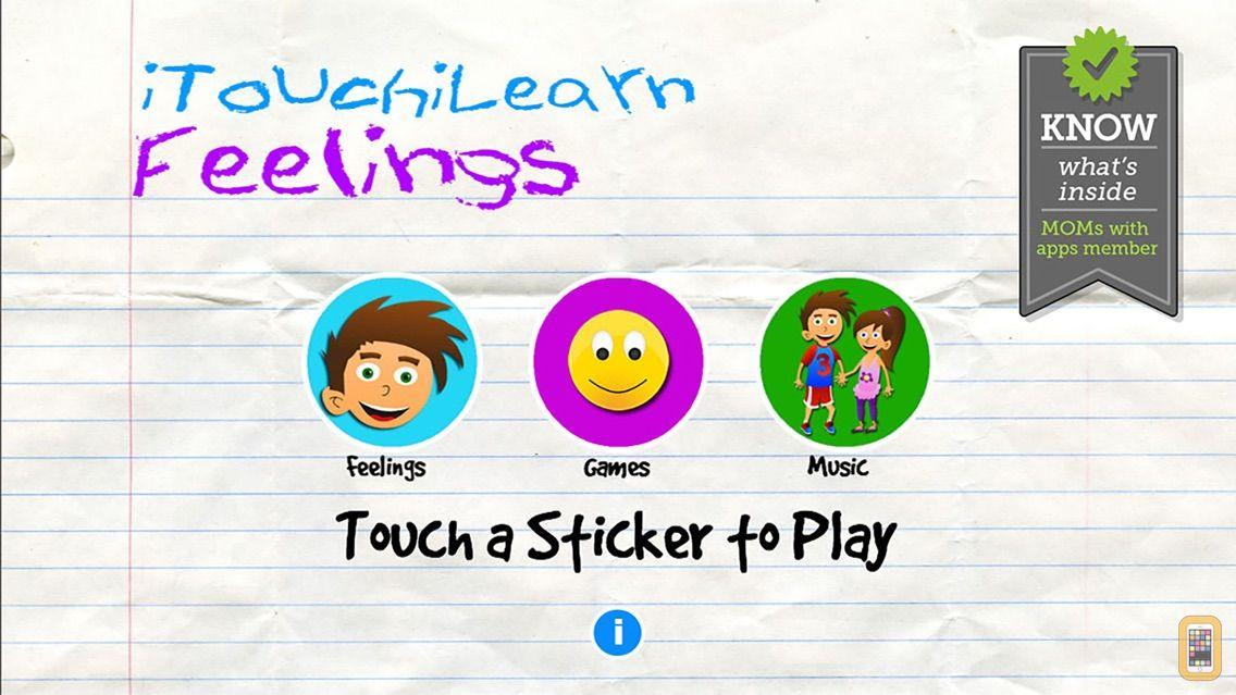 Screenshot - iTouchiLearn Feelings for Preschool Kids